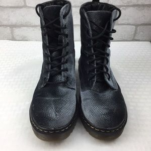 Women's Gray Velvet Lace Up Booties Size 6